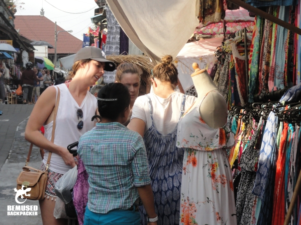 Gap year haggling and touts