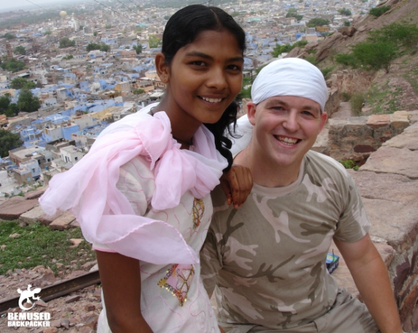 India meeting locals gap year