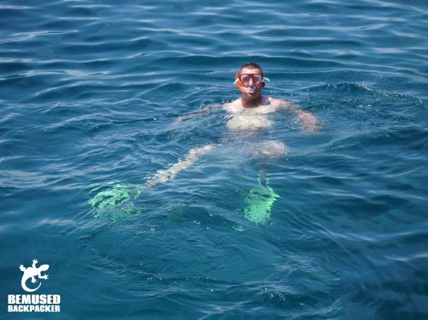 Snorkelling Thailand Gap Year
