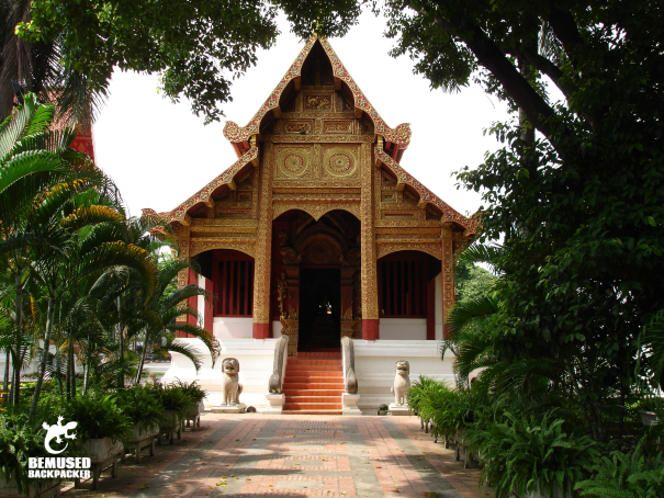 Backpacking in Thailand, Chiang Mai Temple