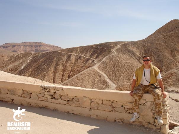 Michael Huxley Egypt adventure
