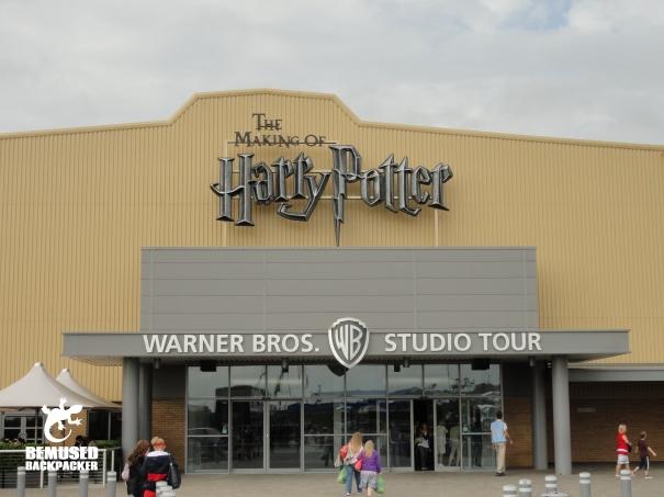Harry Potter Bemused Backpacker