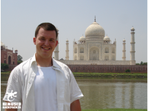 Michael Huxley, Taj Mahal India Gap Year