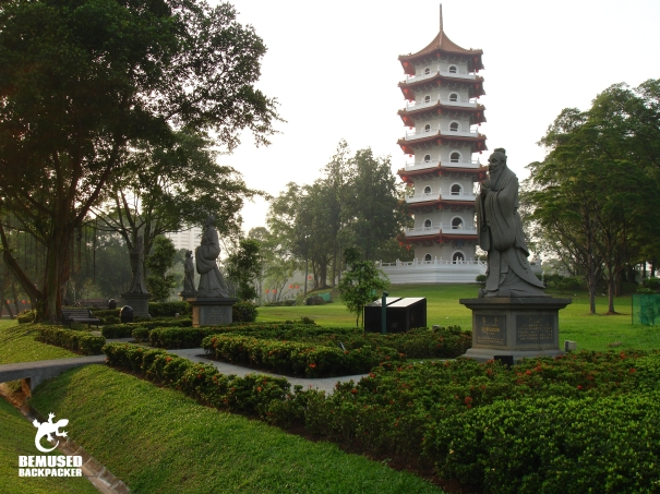 The Chinese and Japanese Gardens in Singapore