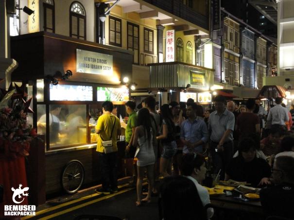 Singapore Food court