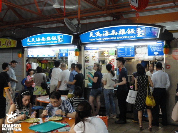 Singapore Maxwell Food Court most popular food in Singapore