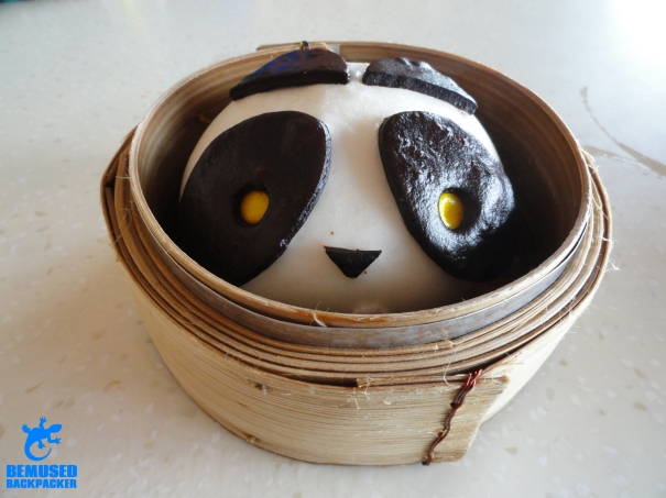 Singapore Panda steam bun