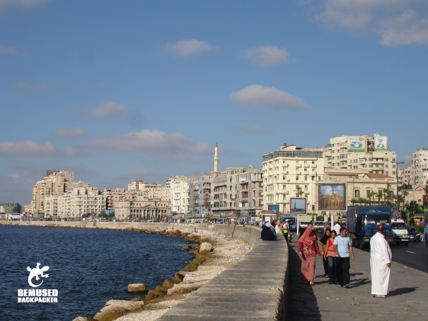 Corniche Alexandria Egypt travel tips