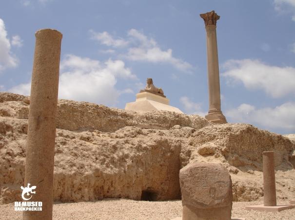 Alexandria Sphinx Egypt