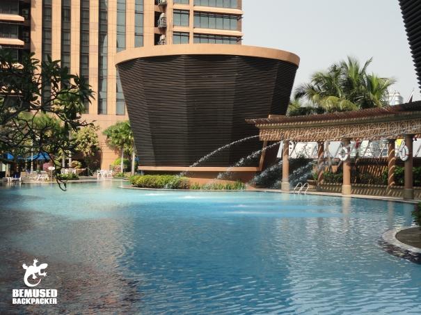 Berjaya Times Square swimming pool