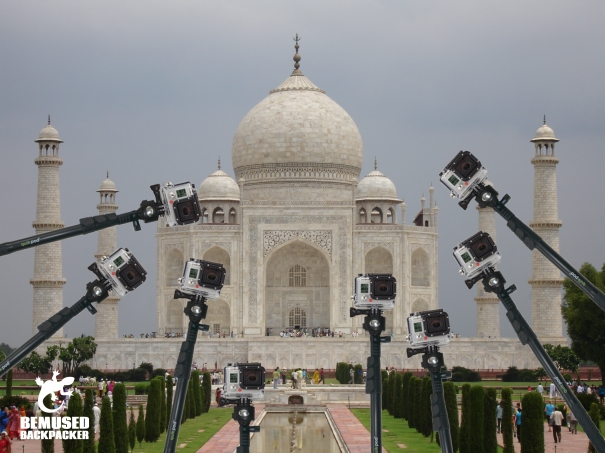 India Taj Mahal Go Pro