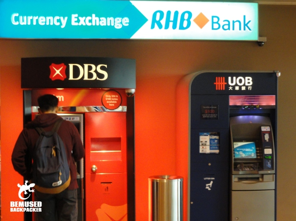 Airport currency transfer