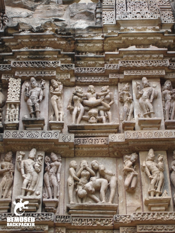 Kajuraho India temple sculptures