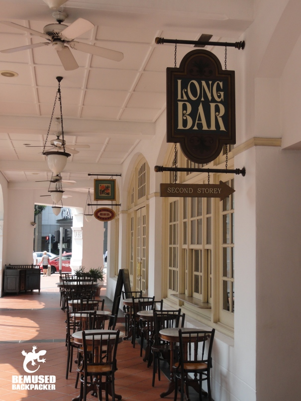Singapore Raffles Long Bar