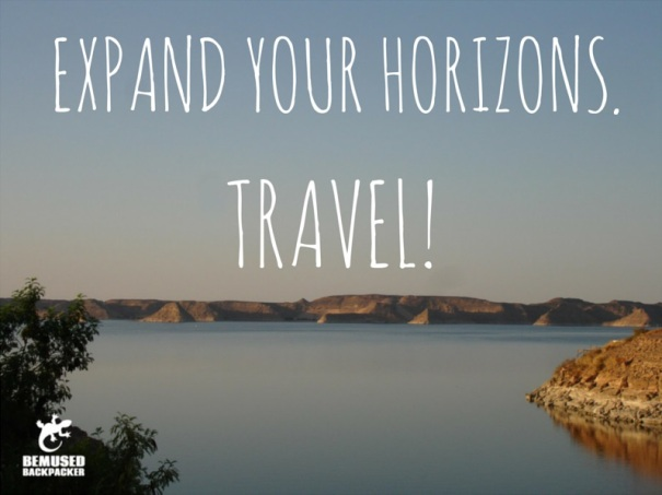 Expand your horizons Travel