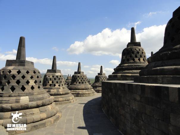 Borobudur Temple in Yogyakarta. Indonesia