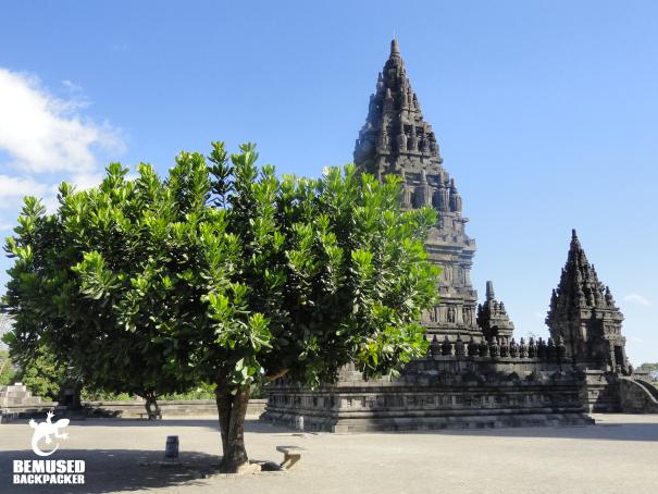 Prambanan temples in Indonesia