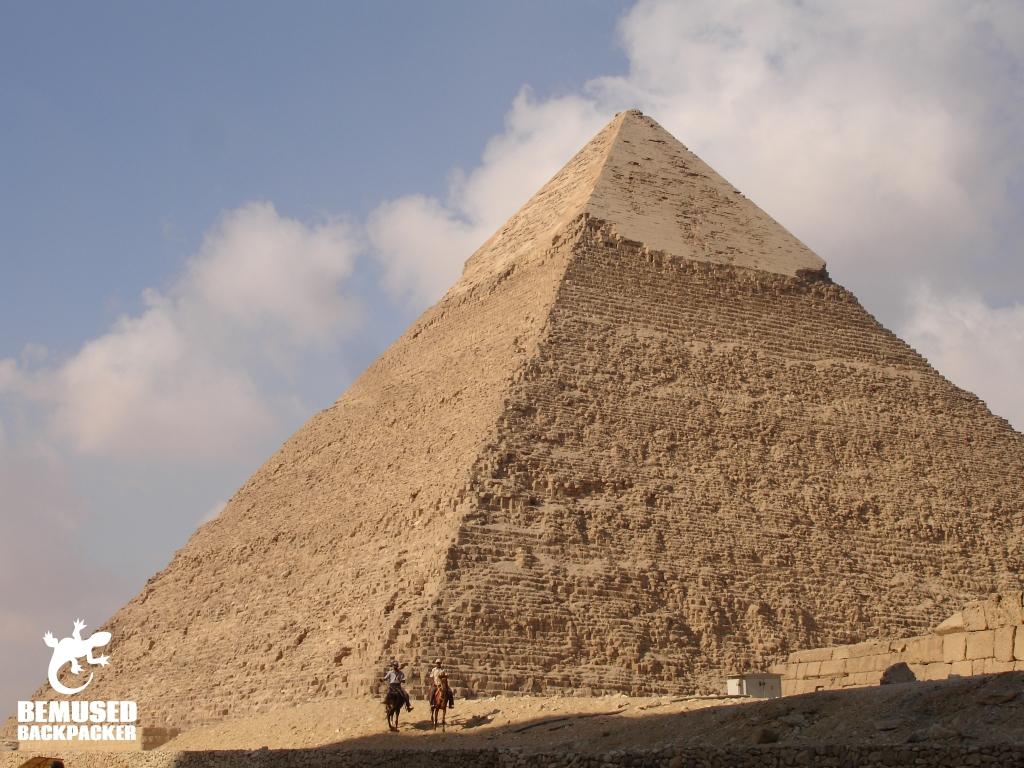 Great pyramid of Giza, Cairo, Egypt