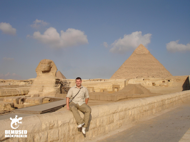 Michael Huxley Sphinx and Pyramids at Giza, Cairo