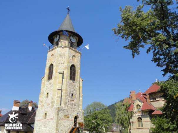 Stevens Tower Clock Piatra Neamt Romania