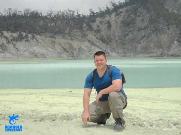 volcano trekking Kawah Putih Java Indonesia