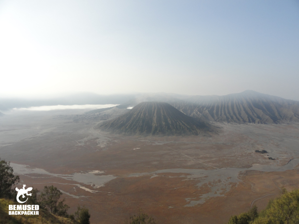 Mount Bromo volcano trekking Java Indonesia