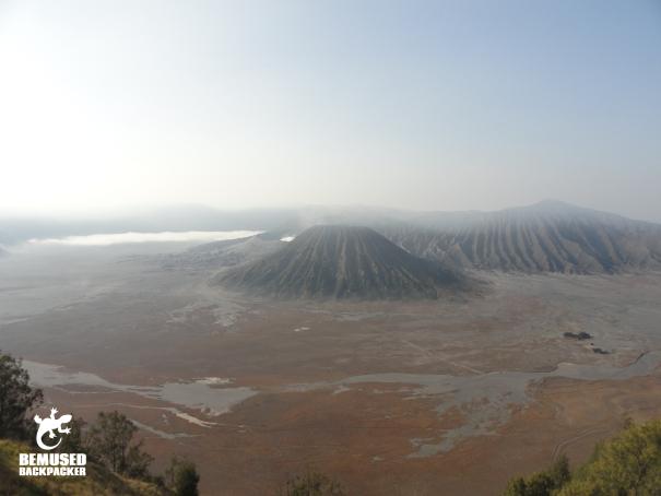Mount Bromo volcano trekking Java Indonesia