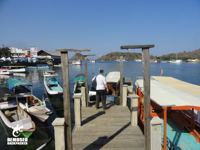 Labuan Bajo how to get to Komodo Island Indonesia