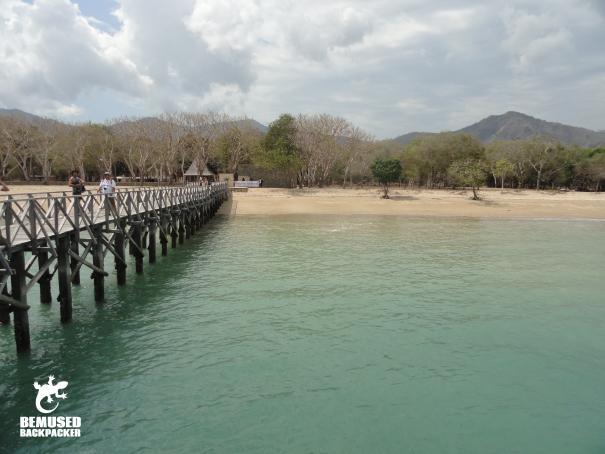 Rinca Island Komodo National Park Dock Indonesia