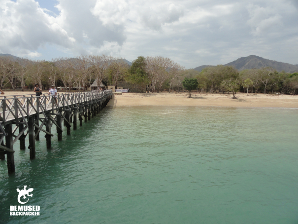 Rinca Island Komodo National Park Dock Indonesia