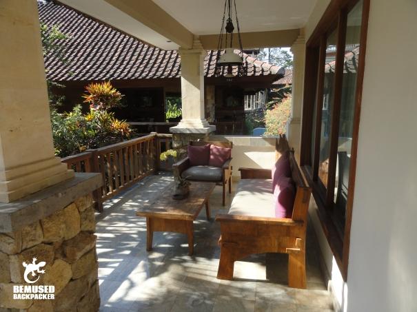 Sri Ratih Cottages Bali Balcony