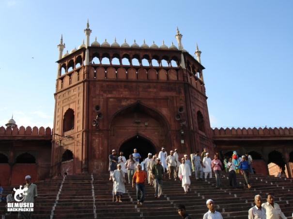 Jama Masjid Majid Jamek Delhi India