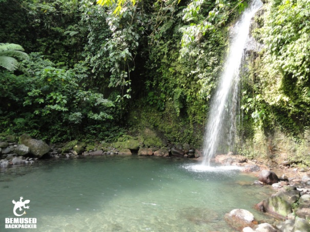 Busay Waterfalls Legazpi Adventure Travel Philippines