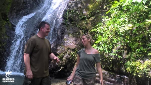 Michael Huxley Busay Waterfall Legazpi Philippines