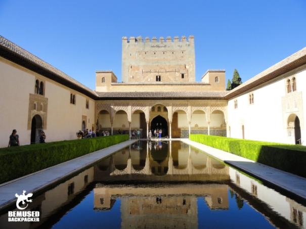 Palacios Nazaries Alhambre Granada Spain