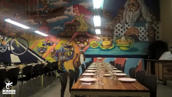 abraham-hostel-tel-aviv-israel-dinner