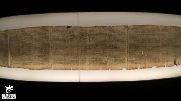 Dead Sea Scroll Israel Museum Jerusalem