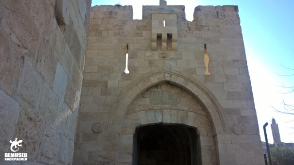 Jerusalem Old City Ramparts Gate Israel