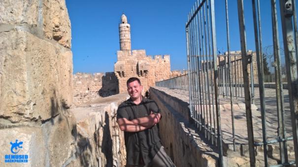 Jerusalem Old City Ramparts Israel