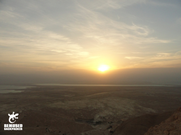Sunrise over the Dead Sea Masada National Park Sunrise Tour Israel