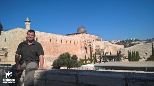 Michael Huxley Dome Of The Rock Jerusalem Israel