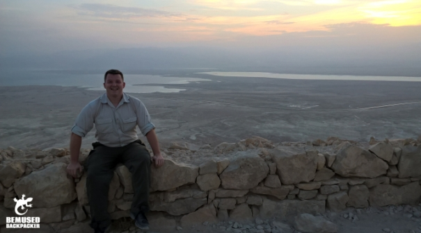 Michael Huxley Masada National Park Sunrise Tour Dead Sea Israel