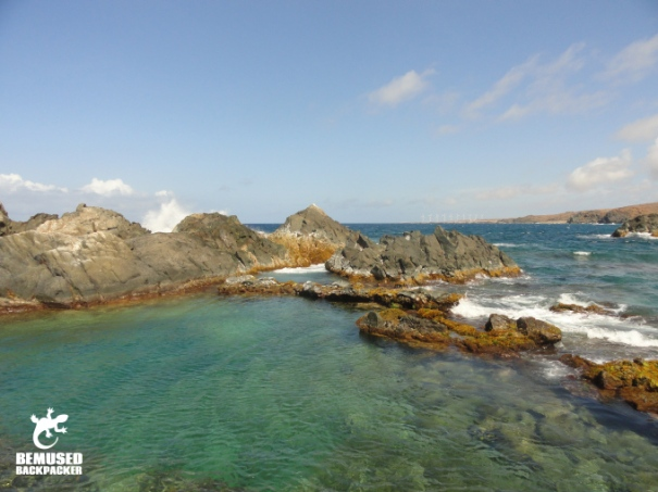 Aruba Coastline Rock Pool Adventure Travel
