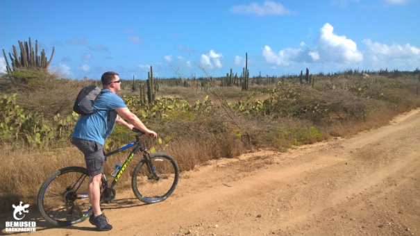 Michael Huxley Adventure Travel Biking Aruba