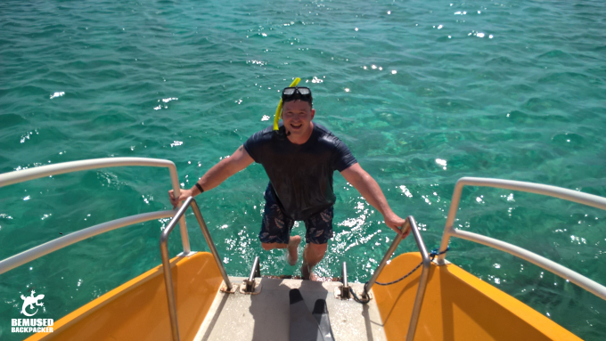 Michael Huxley Adventure Travel Snorkelling Aruba