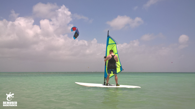 Michael Huxley Adventure Travel Windsurfing Aruba