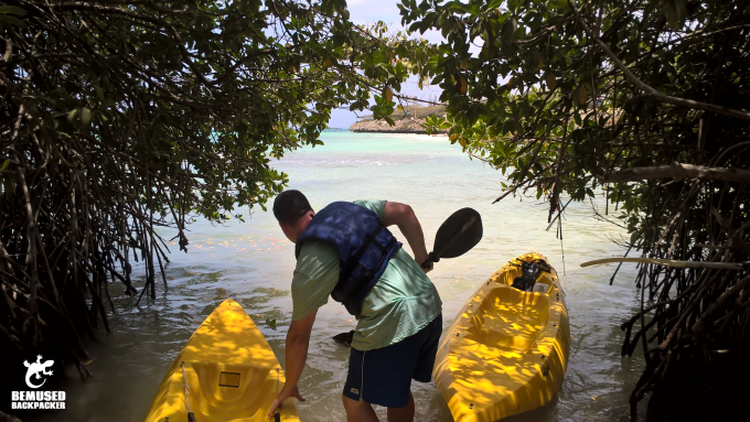 Michael Huxley Sea Kayaking Adventure Travel Aruba