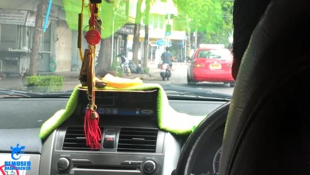 Bangkok taxi driver scam