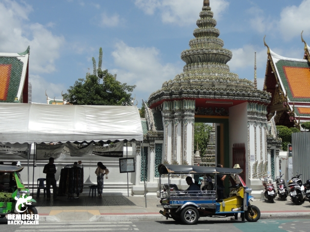 Bangkok Thailand Taxi Tuk Tuk