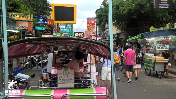 Bangkok Thailand Tuk Tuk Taxi